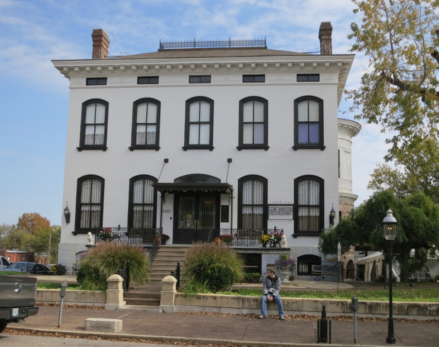 Famous Lemp Mansion on Cherokee street