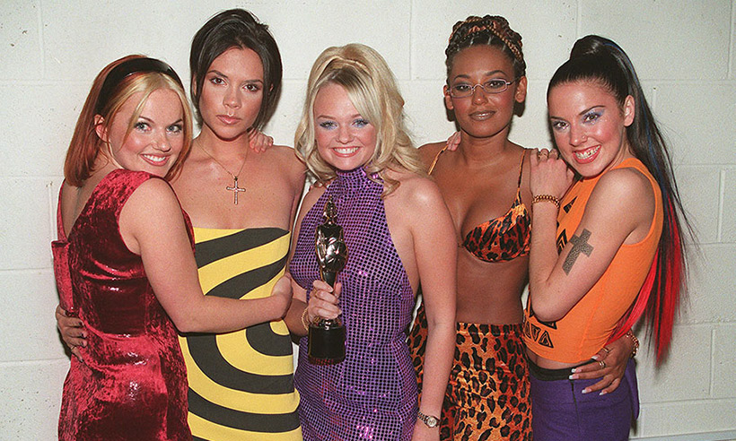 The+spice+girls+after+the+won+an+award