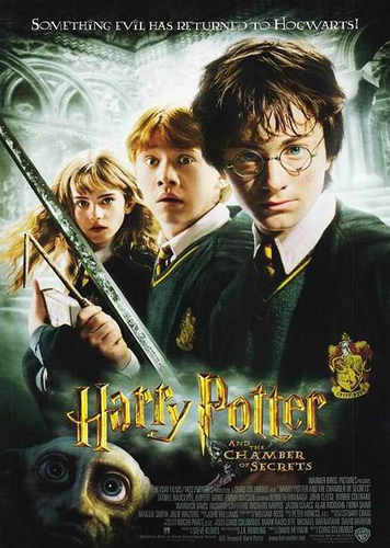 Movie poster for Harry Potter and the Chamber of Secrets