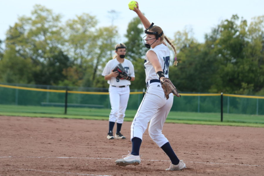 Lexi Moore, a member of C Team softball.