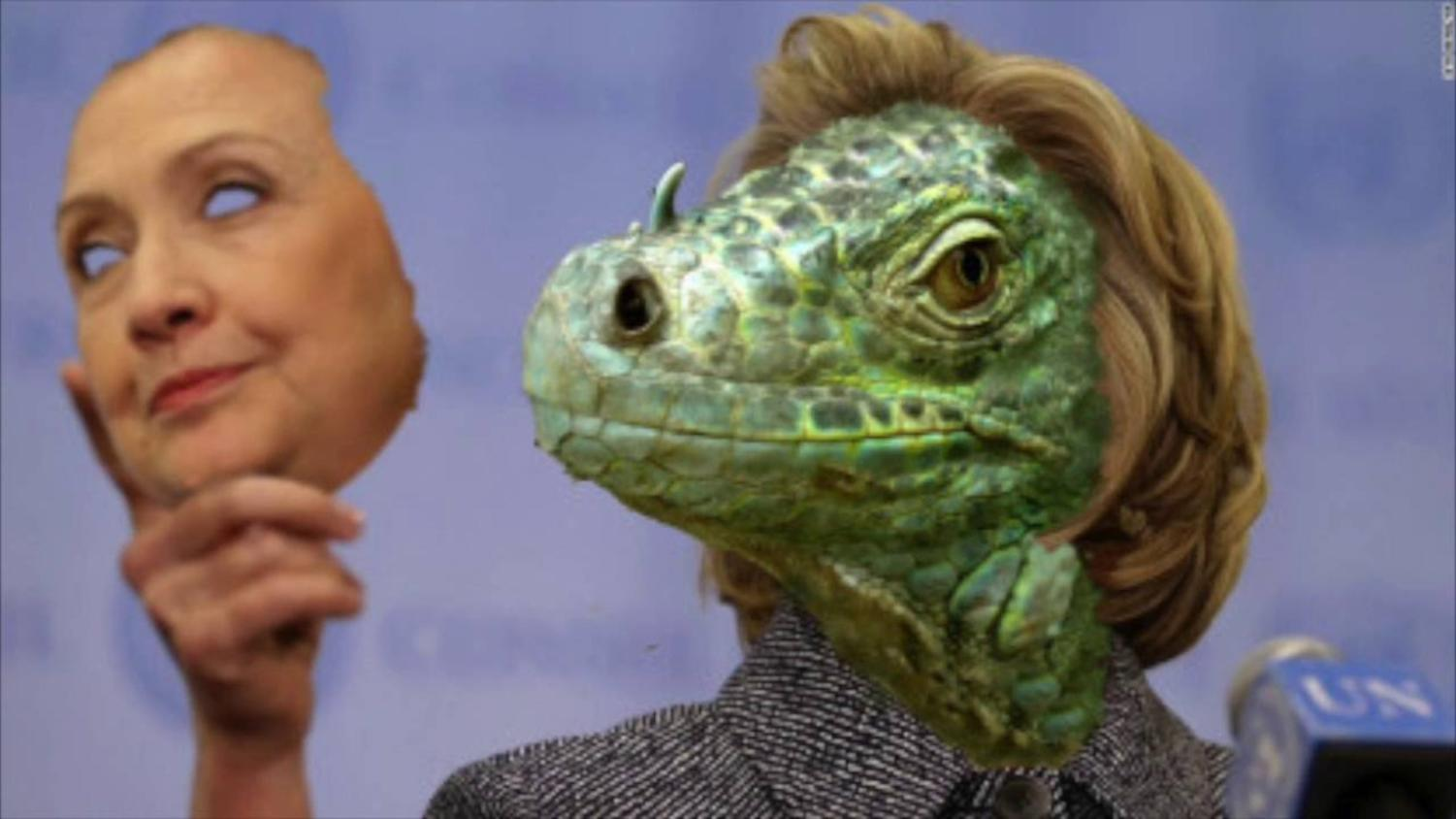 How to recognize a reptilian humanoid