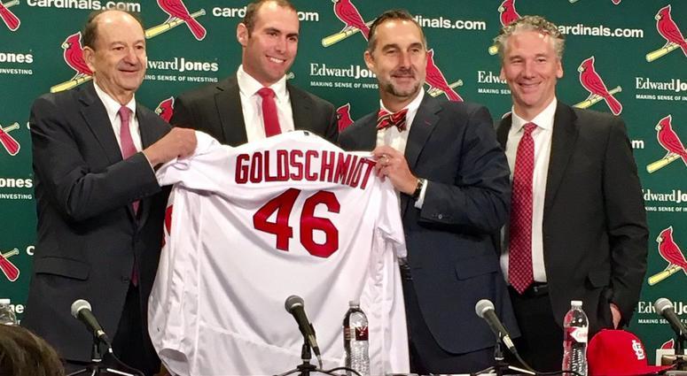 Cardinals Acquire Paul Goldschmidt