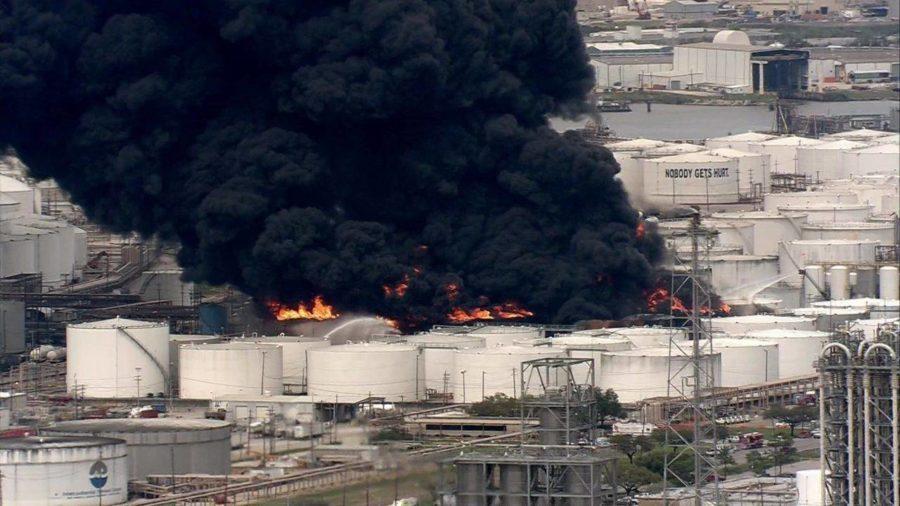 Houston Chemical Fire