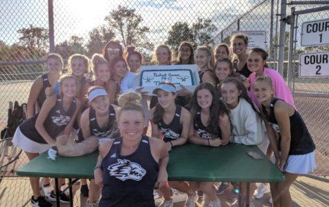 Girls Tennis Team Success
